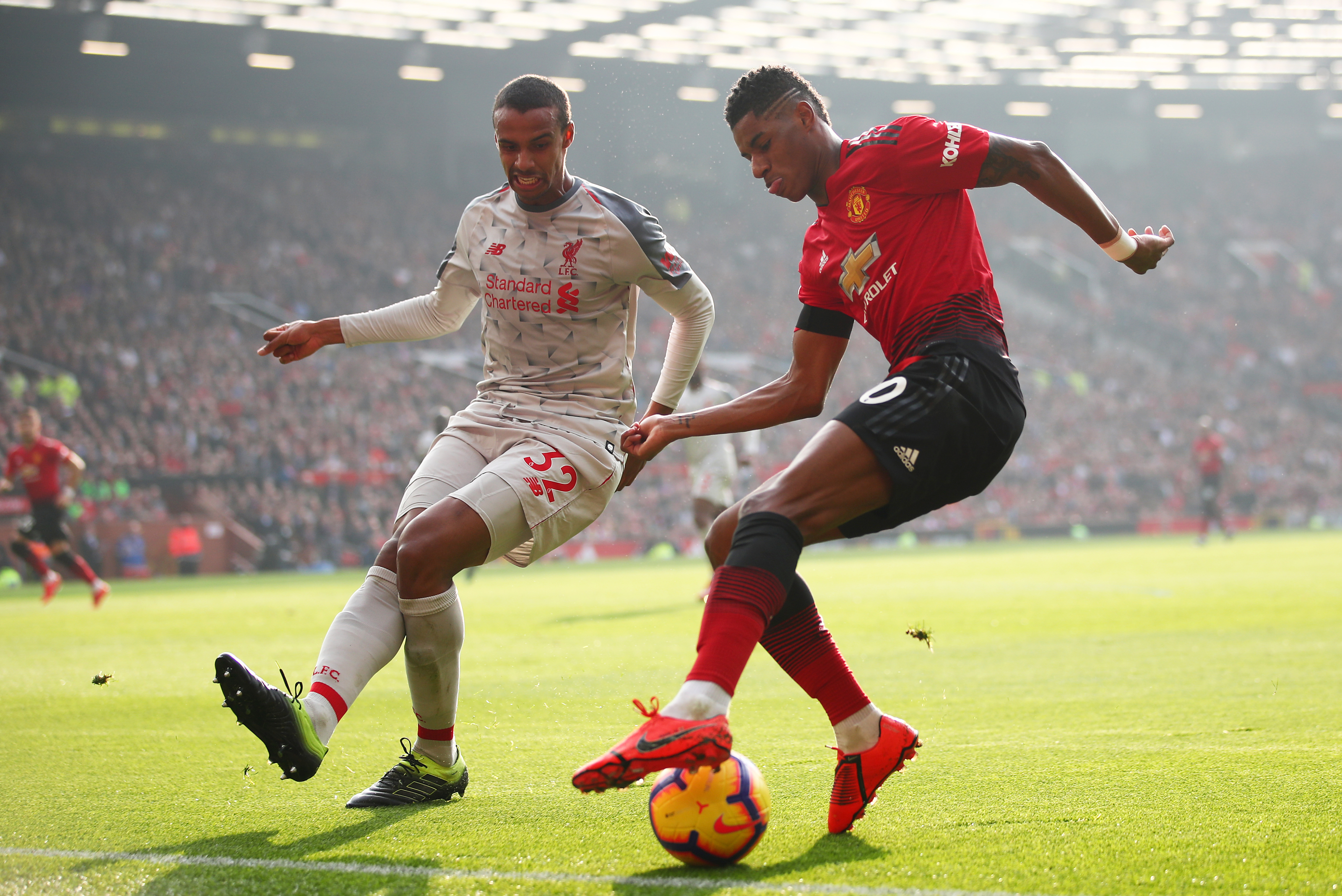 Liverpool V Manchester United Solskjaer Has Marcus Rashford Injury News