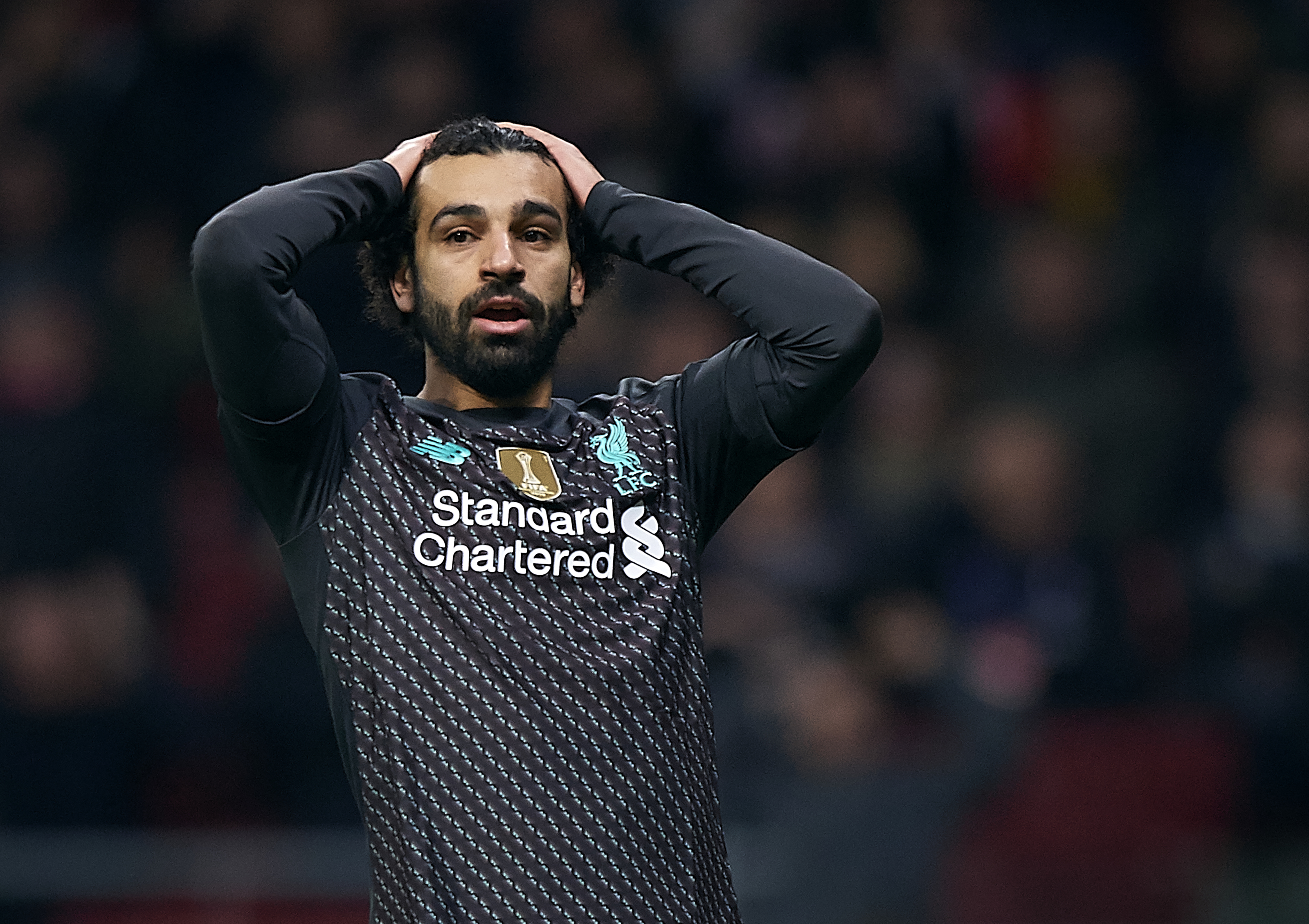 Liverpool 0-1 Atletico: Head are in hands because of Mohamed Salah decision