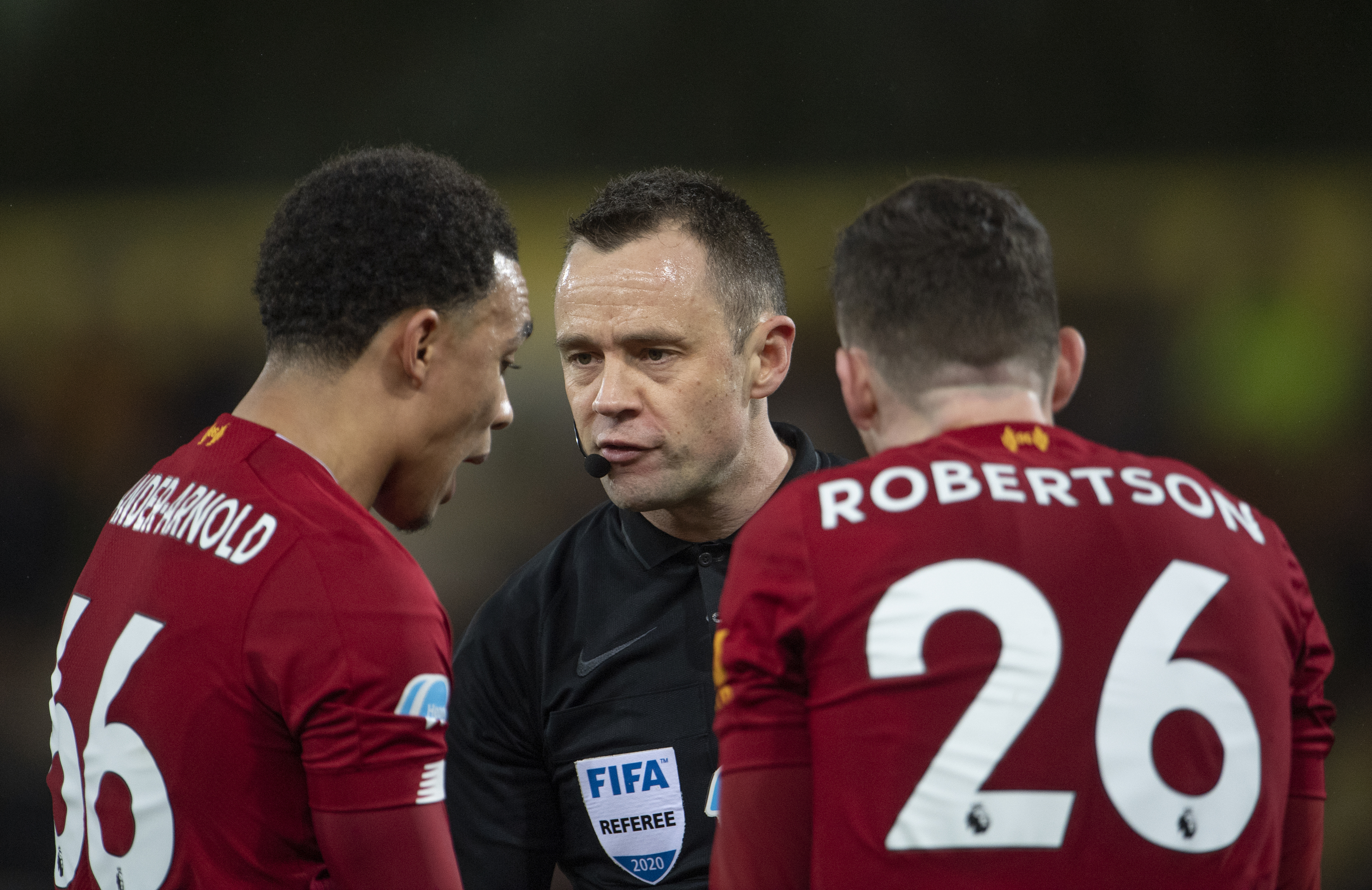 Andy Robertson calls out Trent Alexander-Arnold
