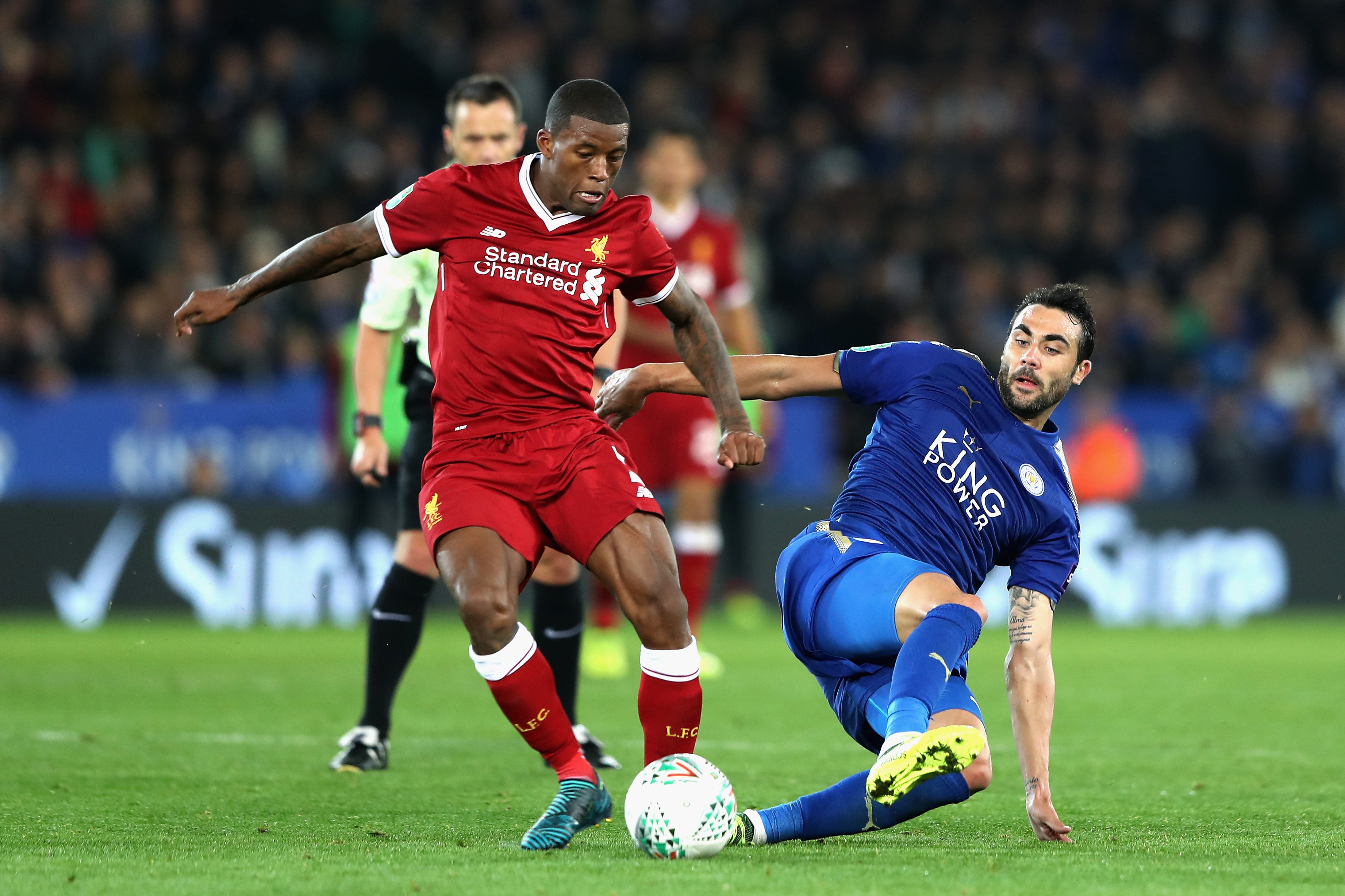 Leicester City 2-3 Liverpool: Reds win on the road