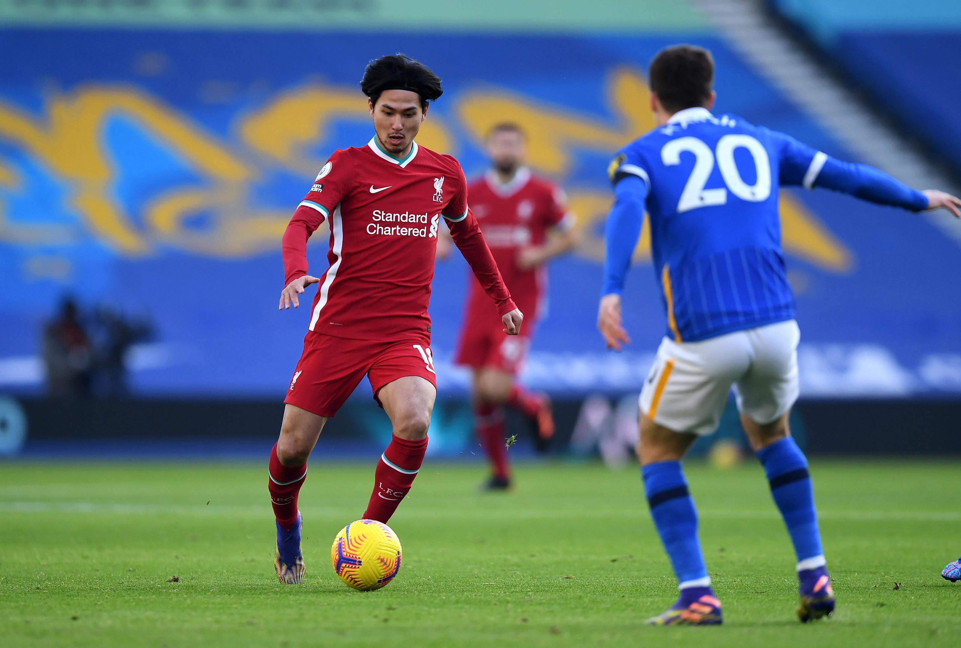 Takumi Minamino leaves Liverpool fans unimpressed vs Brighton