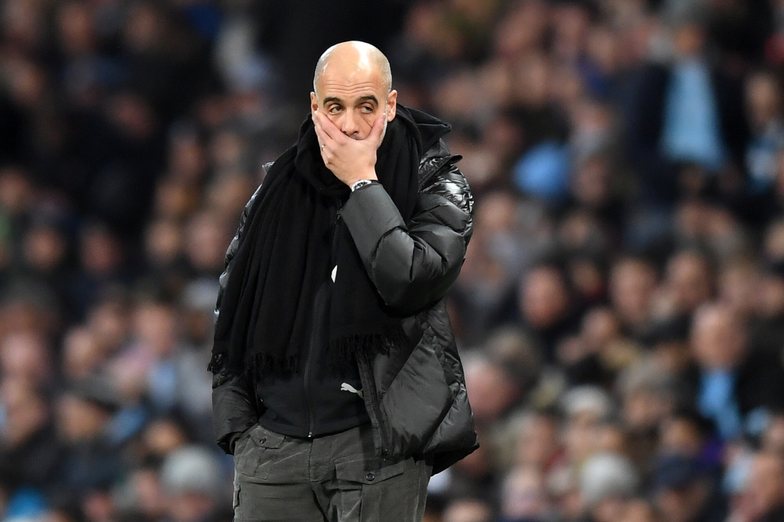 Fraudiola! WTF! City's Champions League team trashed
